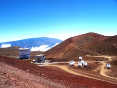 High Elevation on the Big Island Telescopes